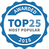 Top 25 Most Popular Home Improvement Specialists badge for 2018